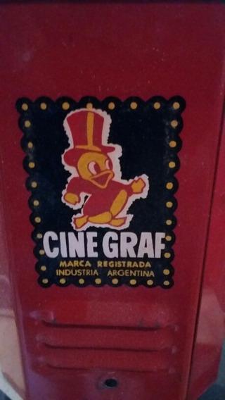 Cinegraf Proyector Industria Argentina Juguete Antiguo