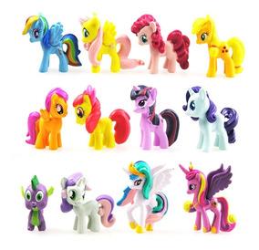 Coleção My Little Poney My Pony Kit C 12 Mini Bonecos Poneys