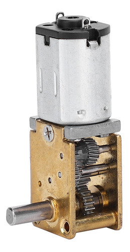 mini motor el/éctrico engranado DC3V 16RPM Motor de engranaje de CC reductor micro del engranaje del gusano del cepillo