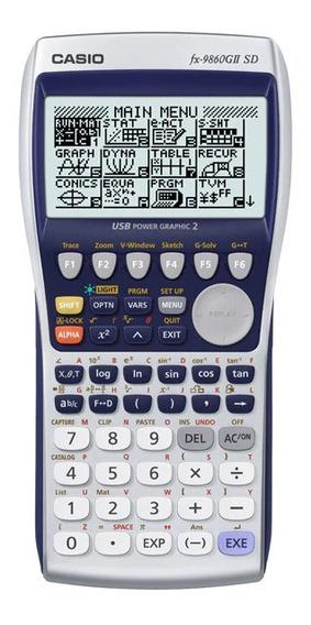 Calculadora Gráfica Casio Fx-9860gii - 64kb Ram + 1.5mb Flash