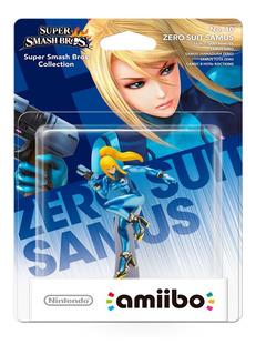 Samus Zero Amiibo Nintendo Original Nuevo Sellado