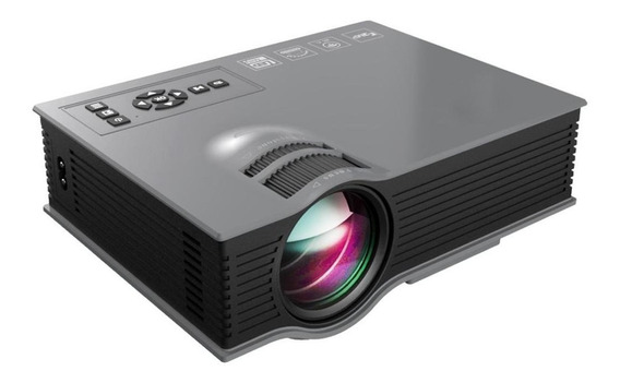 Mini Projetor Home Cin Led Uc46 1080p Wifi