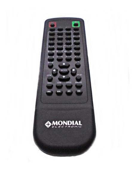 Controle Remoto Dvd Player Mondial D-07 Original
