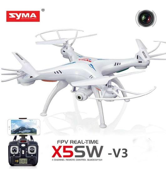 Drone Syma X5sw V3 Camera Hd Wifi Pronta Entrega Original