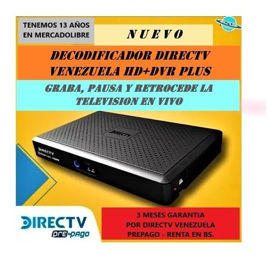 Decodificador Directv Dvr Hd Con Grabador Y Sin Grabador