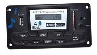 Reproductor Mp3 Fm Bluetooth 4.0 Frente + Control Itytarg