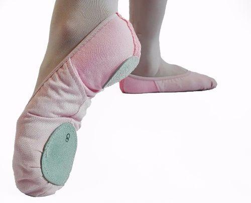 Zapatillas Danza Media Punta Profesionales Elastizadas 23-43