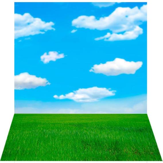 Fundo Fotográfico Em Tecido Cenário Céu 1,5x2,2m - Ffc-346