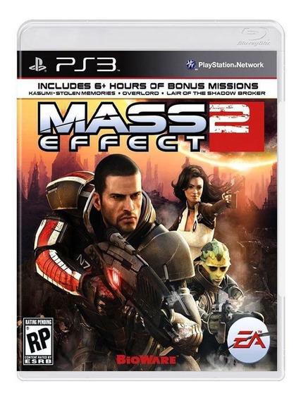 Mass Effect 2 + Bonus Ps3 - Mídia Física, Original E Lacrada