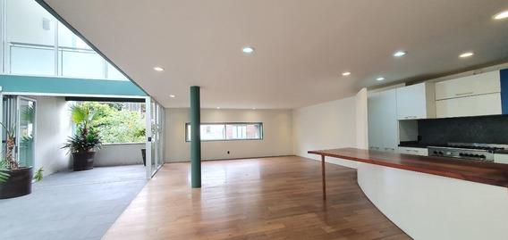Penthouse Polanco De 3 Recámaras Con Doble Altura