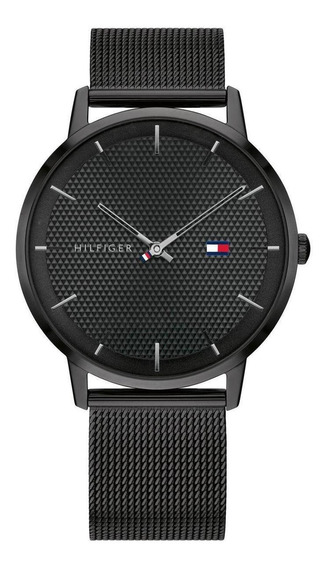 Relógio Tommy Hilfiger Preto Aço 1791701