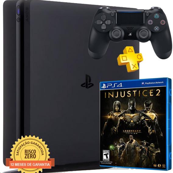 Playstation 4 Ps4 Slim 500gb + Injustice 2