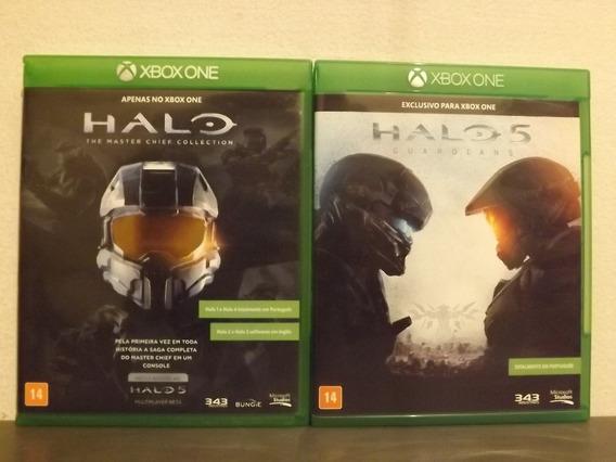 Xbox One Halo 1, 2, 3, 4 & 5 - Coleção Original - Trocas...