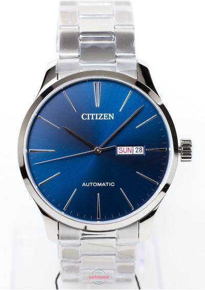 Relógio Citizen Automático Social Nh8350-83l Azul