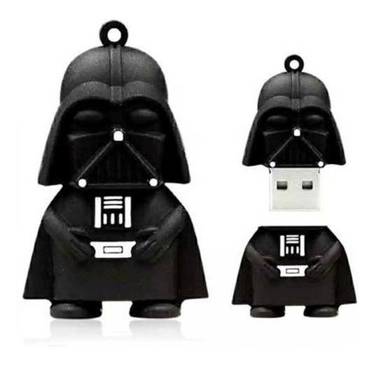 Pendrive Chaveiro Darth Vader Emborrachado 4gb Leia Anuncio
