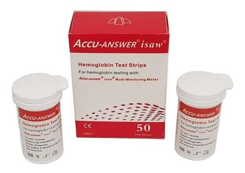 Accu-answer 4 En 1 Hemoglobina Tiras De Prueba