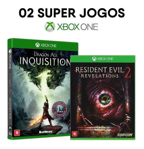 Dragon Age Inq. + Resident Evil 2 Rev. Xbox One [ Lacrados ]