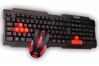 Teclado Gamer + Mouse !!combo Noga Nkb-300!!