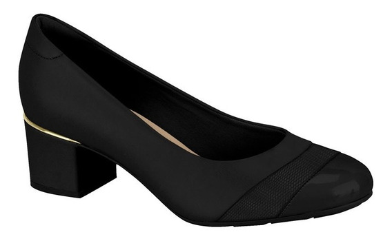 Zapato Mujer Taco Bajo 4.5 Cm Plantilla Acolchada Modare