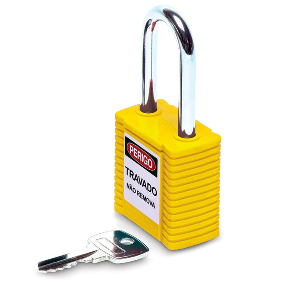 Cadeado De Segurança Brady Amarelo 1,5 - 77570 77570