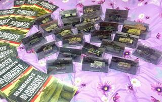 Blindados De Combate Miniaturas - Coleção 07 Carros