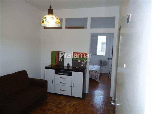 Apartamento Sala Living I 1 Vaga I 48m²   Centro I Sv - 679