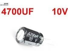 Capacitor Eletrolitico 4700uf X 10v - 6 Peças