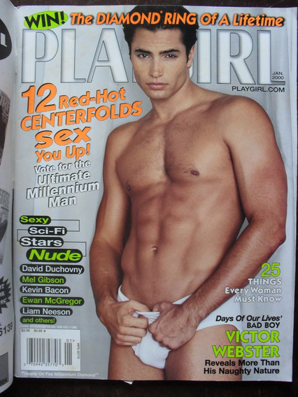 G Magazine Playgirl Magazine - Jan/2000