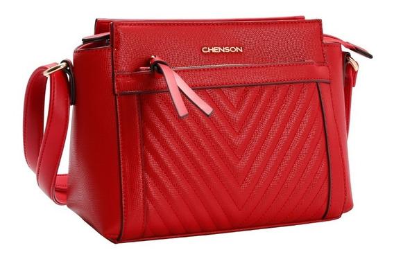 Bolsa Transversal Chic Chenson Vermelho 81735