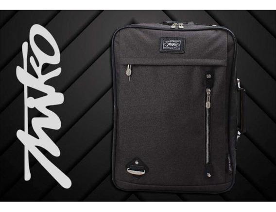 Mochila Portafolio Backpack Laptop 2 En 1