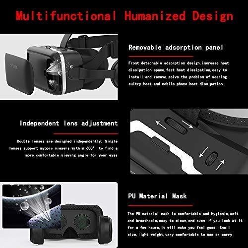 Audifono Realidad Virtual Definicion Lente 3d Vr Para