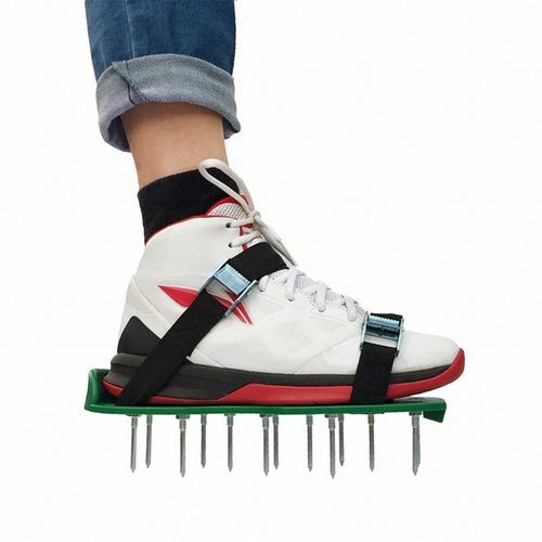Imagen 1 de 8 de Césped Aireador Zapatos Herramienta Eficaz Para Airear Patio