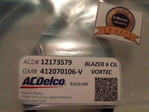 Cables De Bujias Blazer 4.3 Vortec 6 Cil 262 Acdelco 98-02