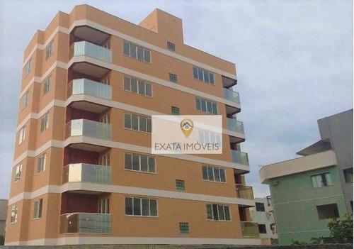 Apartamentos Com Elevador, Praia De Costazul, Rio Das Ostras. - Ap0350
