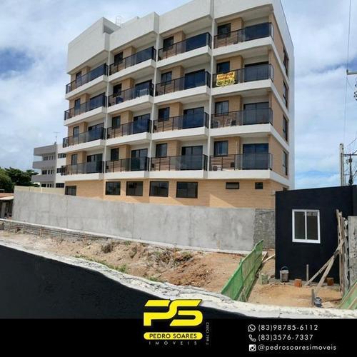 Imagem 1 de 10 de Flat Com 1 Dormitório À Venda, 42 M² Por R$ 240.000,00 - Ponta De Campina - Cabedelo/pb - Fl0127