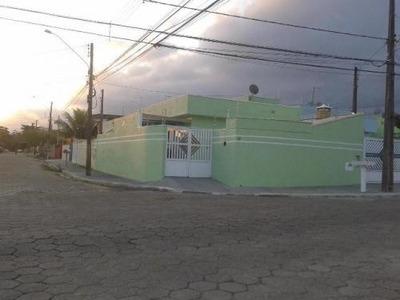 Casa Com 2 Quartos Em Peruíbe-sp, Lado Praia - 5217/p