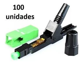 100x Conector Fast Sc/apc