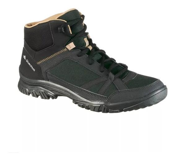 Bota Sapato Masculina De Trilha Montanha Quechua Nh100 Nova