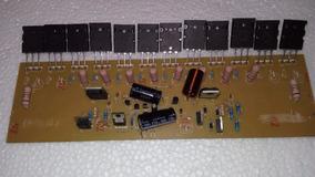 Placa Montada Amplificador 600w Com 12 Transistores 2ohms