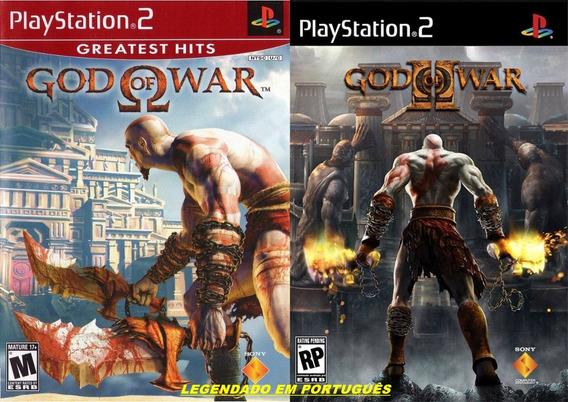 Patch God Of War 1e2 Ps2 Lgendado Em Português Frete Grátis