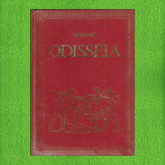 Livro Odisséia Homero Clássico Da Literatura Universal Abril