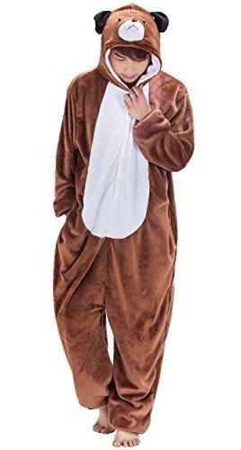 Unisex Adult Anime Halloween Cosplay Kigurumi Pajamas Dog