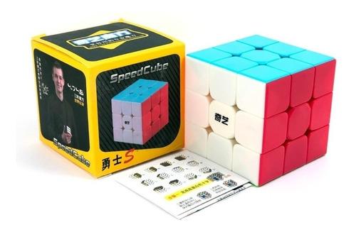 Imagen 1 de 3 de Cubo Rubik Qiyi Warrior S Stickerless Speed 3x3 Original