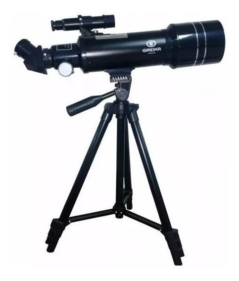 Telescopio Azimutal Refrator Com Tripe E Acessorios