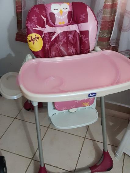 Silla De Comer Bebé Niña Chicco