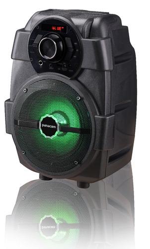 Parlante Portatil Panacom Sp-3049 F  Luz Bluetooth Radio