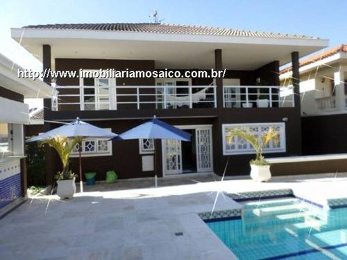Imagem 1 de 22 de Condomínio Fechado! Portal Do Paraíso I, Ampla Com 04 Dormitórios, Permuta - 81633 - 4491310