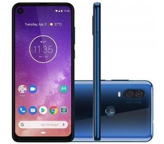 Smartphone Motorola One Vision 128gb Azul Safira-4g 4gb Ra