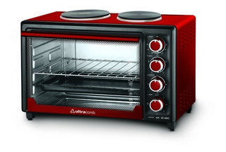 Horno Eléctrico Ultracomb Uc-40ac Doble Anafe 40lts