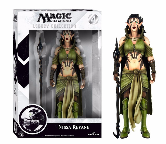 Nissa Revane Magic The Gathering Legacy Action Figure
